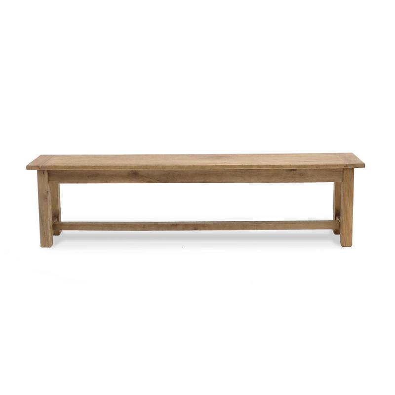 Reclaimed elm bench seat 160cm long