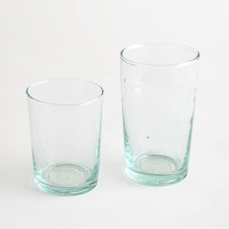 Beldi recycled glass tumbler