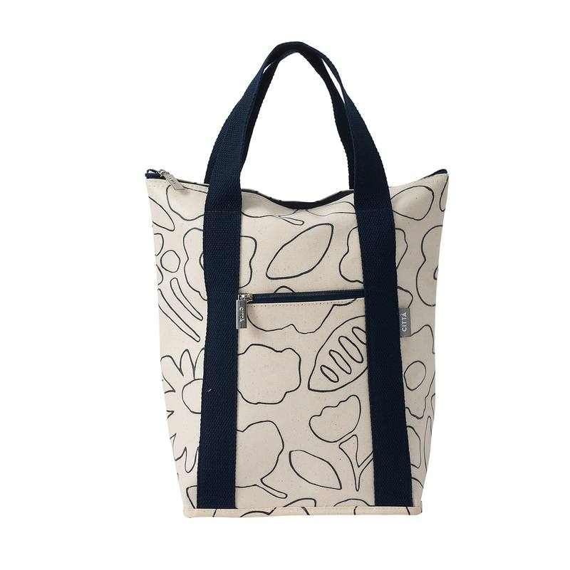 Daisy chain wine cooler bag