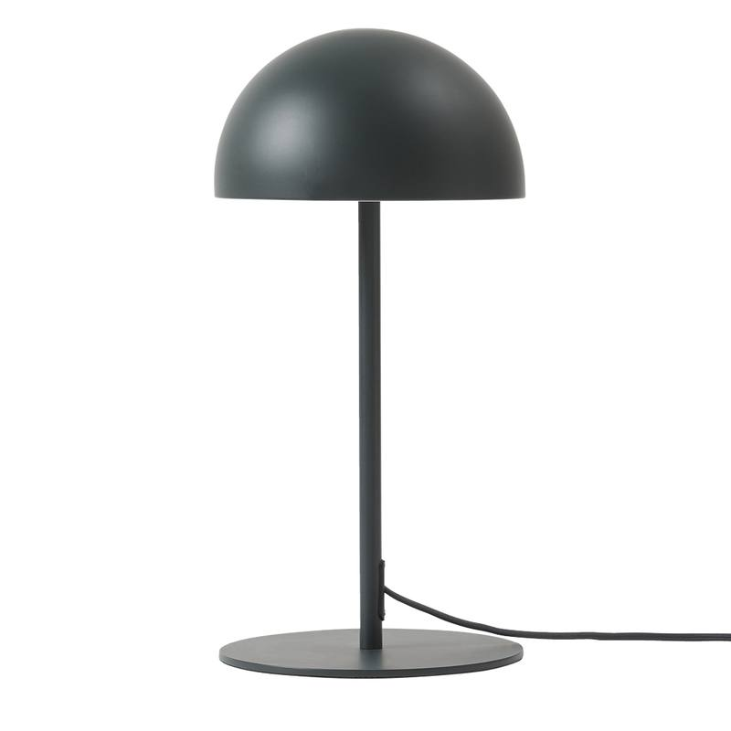 Dome table lamp charcoal