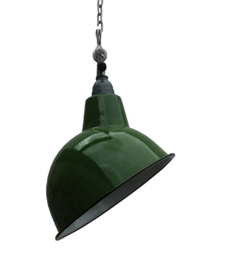 Cloche angle ceiling shade