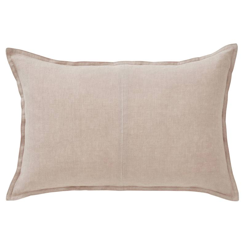 Como linen rectangle cushion cover