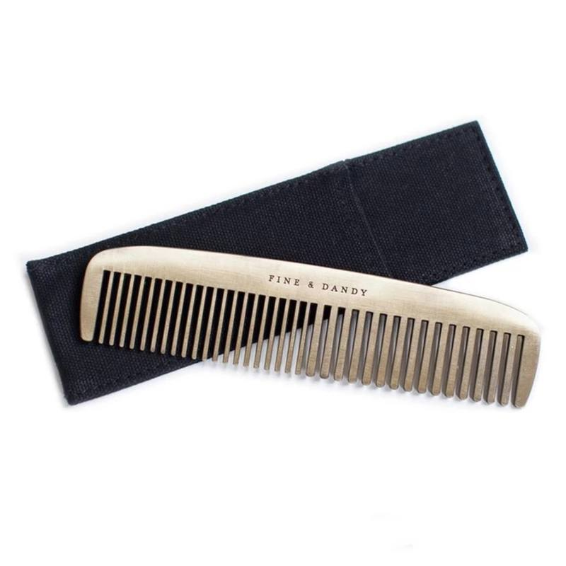 'Fine and dandy' hair comb