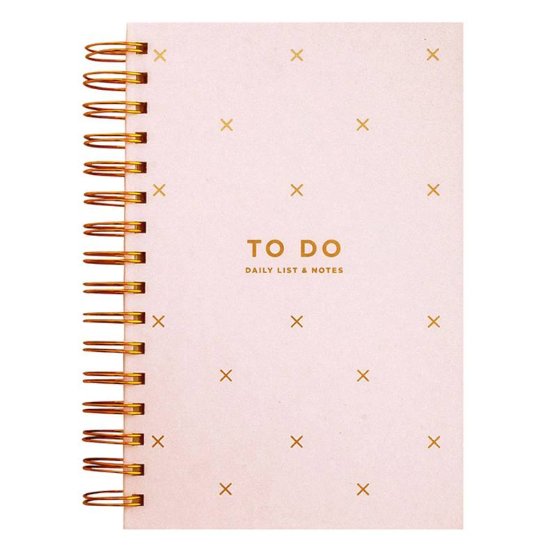 'To Do' Daily list & notes book
