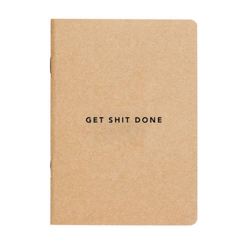 Get shit done notebook A5