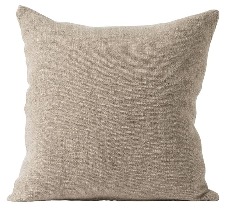 Heavy linen cushion cover