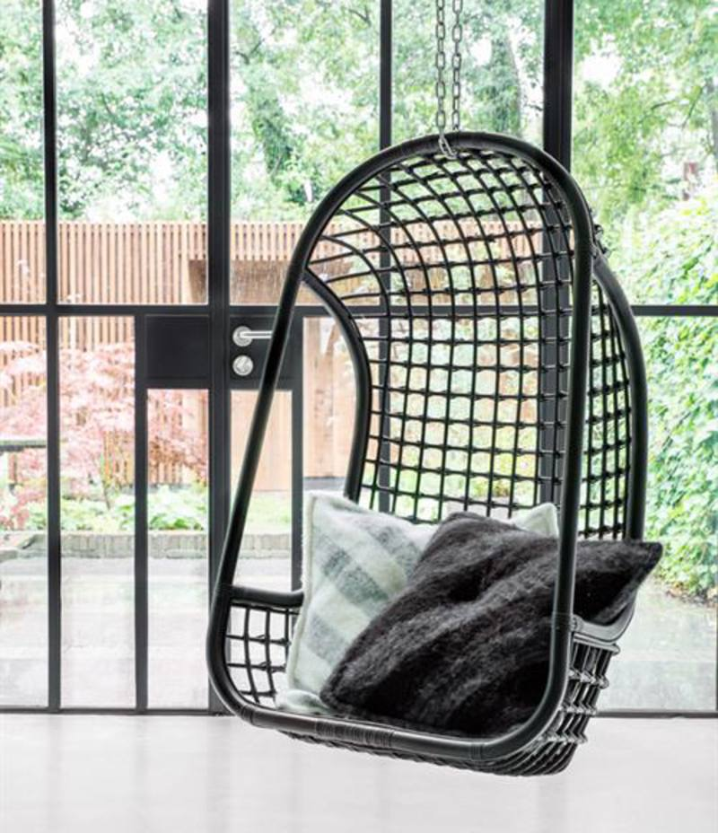 Hk Living Egg Chair.Hk Living Hanging Rattan Chair In Nz Green With Envy