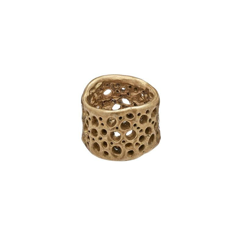 handmade bronze ring