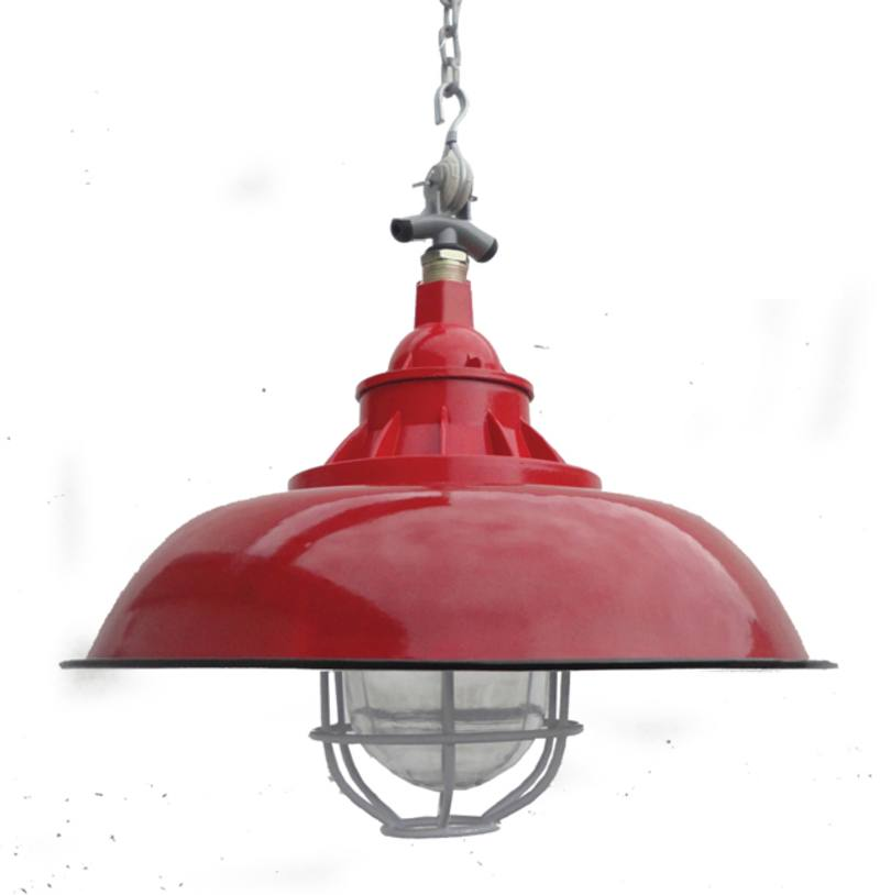 Enamel loft light