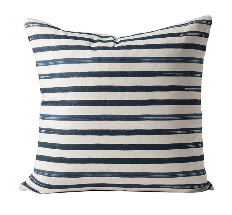 Miti striped cushion cover