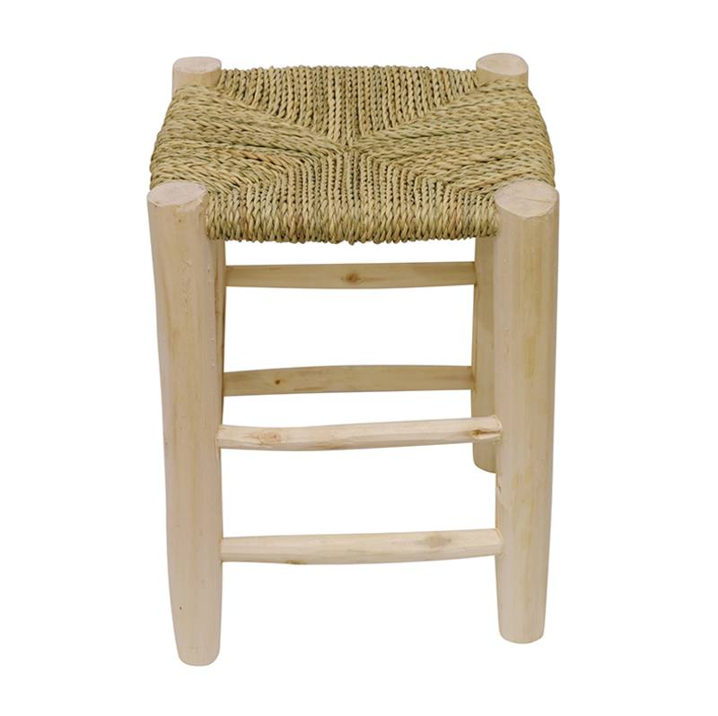 Moroccan woven stool small