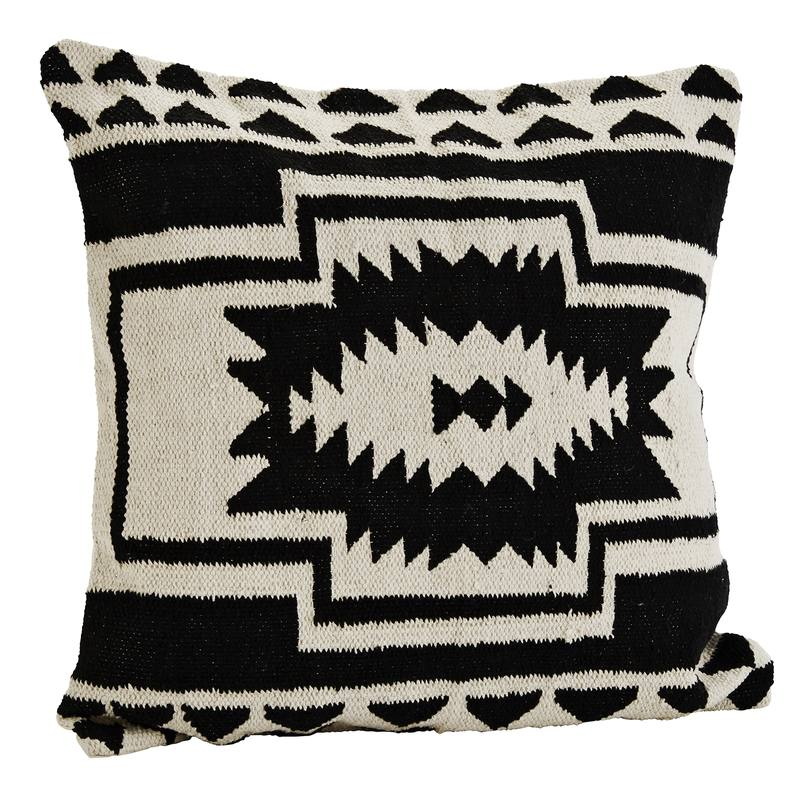 Aztec tribal cushion cover