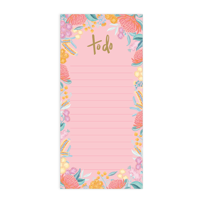 'To Do' list magnetic notepad