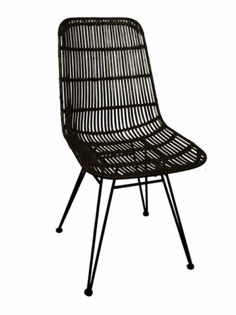 Brilliant Woven Rattan Dining Chair From Green With Envy Theyellowbook Wood Chair Design Ideas Theyellowbookinfo