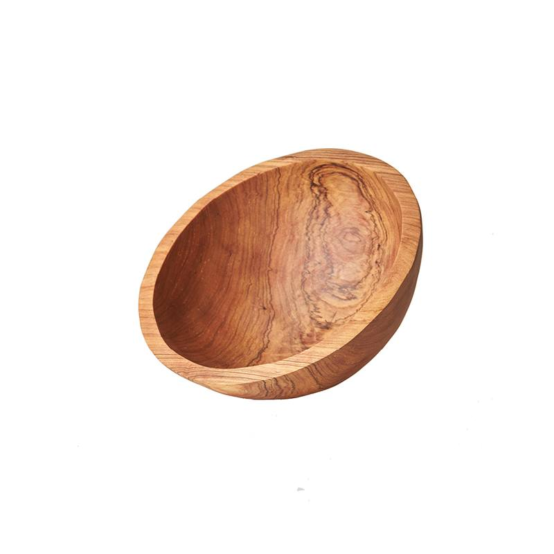 Reclaimed olive wood bowl small