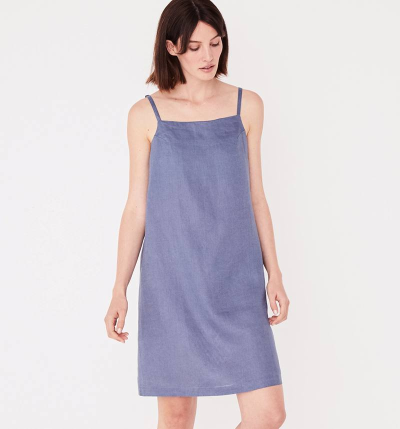 Assembly Label pinafore linen dress