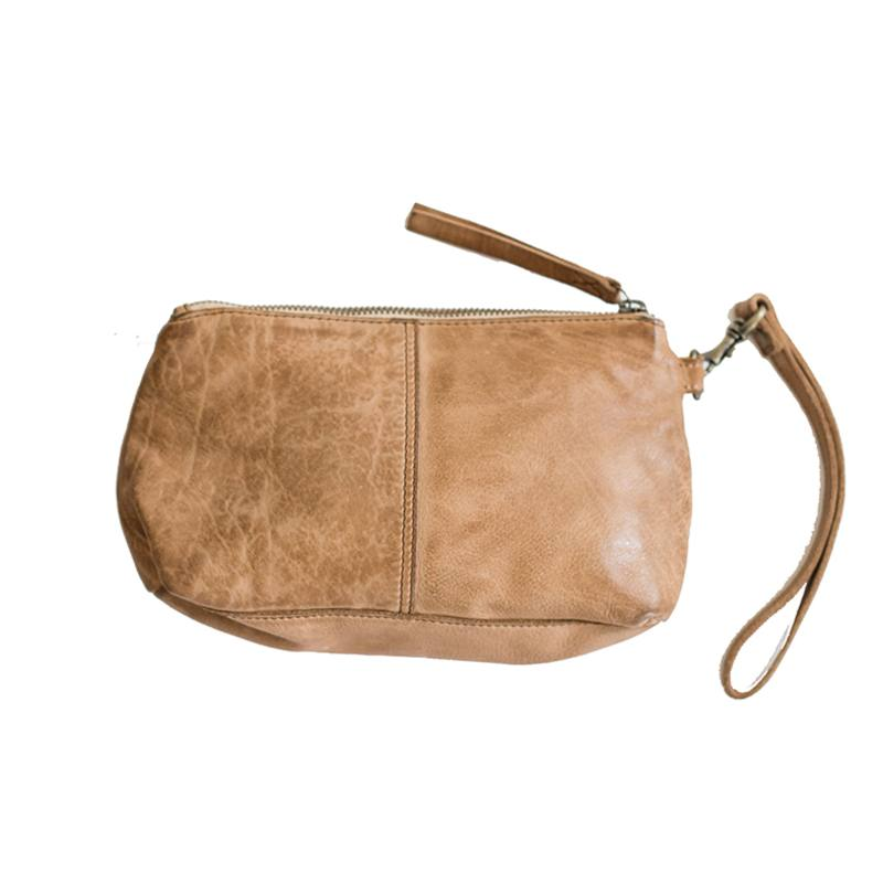 Juju & Co Santorini small leather pouch