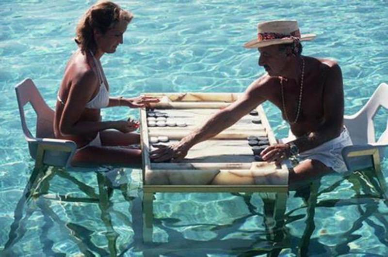 Slim Aarons 'Keep Your Cool' photographic print