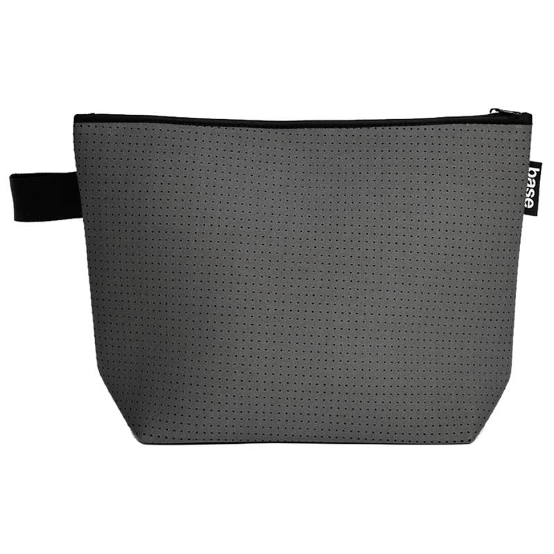 Neoprene stash pouch large charcoal