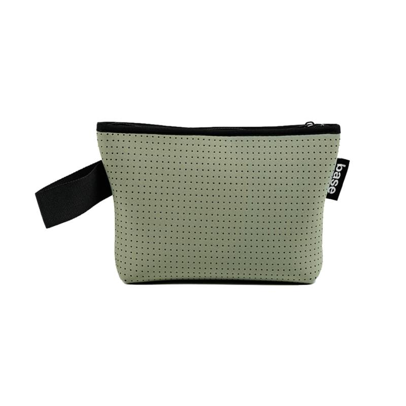 Neoprene stash pouch small sage