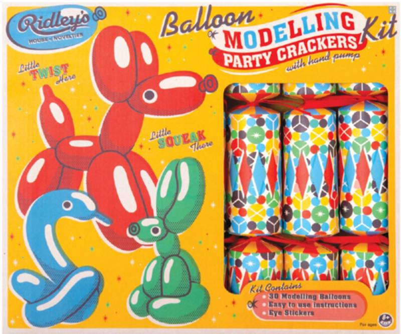 Ridley's balloon modelling crackers (6)