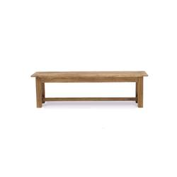 Reclaimed elm bench seat 110cm long