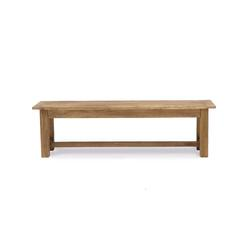 Reclaimed elm bench seat 135cm long
