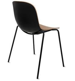 Buy 3D oak dining chair natural & black in NZ New Zealand.
