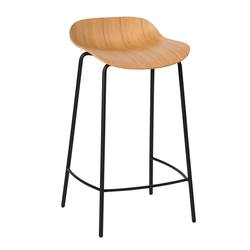 Buy 3D oak plywood bar stool 65cm in NZ New Zealand.