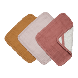 Buy Organic cotton washcloths pack of 3 in NZ New Zealand.