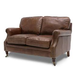 Buy Princeton 2-seater sofa aged brown in NZ New Zealand.