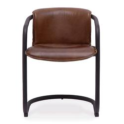 Buy Bealey leather dining chair in NZ New Zealand.
