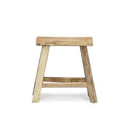 Buy Reclaimed elm stool in NZ New Zealand.