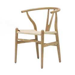 Buy Wishbone chair natural in NZ New Zealand.