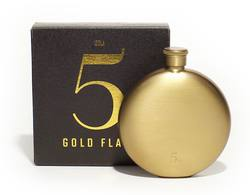 Hip flask 5oz brass