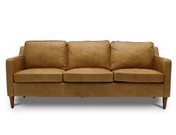 Buy Ralph leather sofa tan in NZ New Zealand.