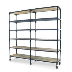 Buy Large industrial shelving unit on castors in NZ New Zealand.