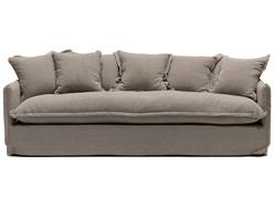 Buy Lotus slip cover 3-seater sofa in NZ New Zealand.