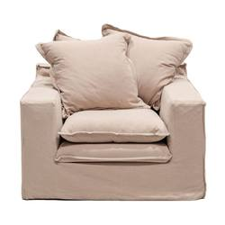 Buy Keely slip cover armchair in NZ New Zealand.