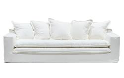 Buy Keely slip cover 3-seater sofa in NZ New Zealand.