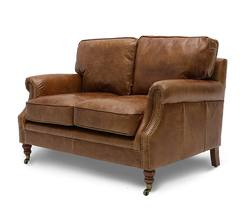 Princeton 2-seater sofa aged tan