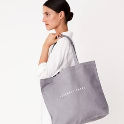 Assembly Label tote bag