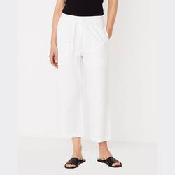 Assembly Label cotton straight leg pant white