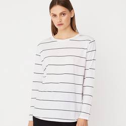 Assembly Label bay long sleeve stripe tee