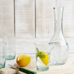 Buy Beldi recycled glass carafe 900mls in NZ New Zealand.