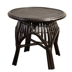 Bosa side table black