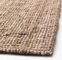 Buy Boucle jute rug natural in NZ New Zealand.