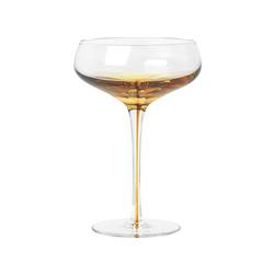 Buy Amber cocktail glass in NZ New Zealand.