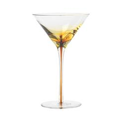 Buy Amber martini glass in NZ New Zealand.