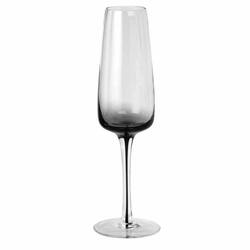 Smokey grey champagne glass